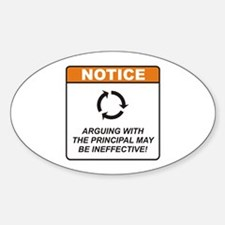 Principal / Argue Decal