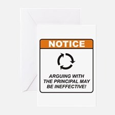 Principal / Argue Greeting Cards (Pk of 10)