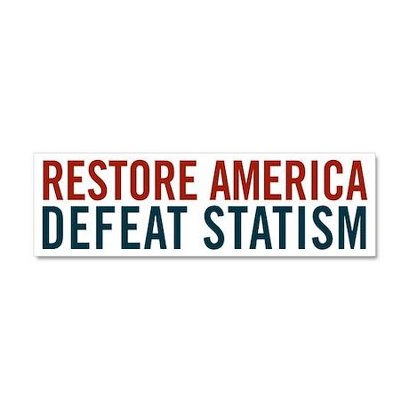 Restore America Car Magnet 10 x 3