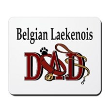 Belgian Laekenois Dad Mousepad