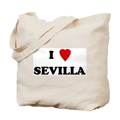 I Love Sevilla Tote Bag