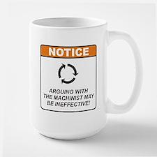 Machinist / Argue Large Mug