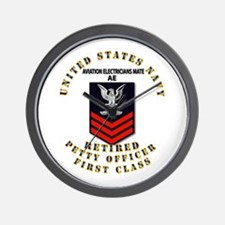 PO1 - Aviation Electrician Mate - Retired Wall Clo