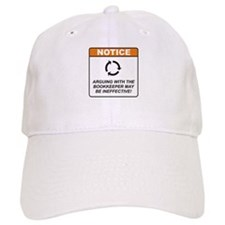 Bookkeeper / Argue Baseball Cap