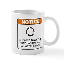 Accountant / Argue Mug