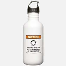 Accountant / Argue Water Bottle