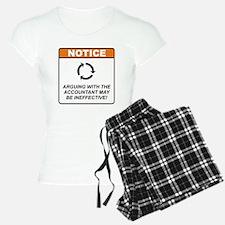Accountant / Argue Pajamas