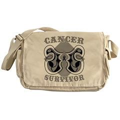Melanoma Survivor Messenger Bag