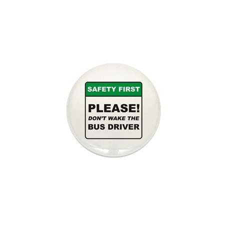 Bus Driver / Wake Mini Button (100 pack)