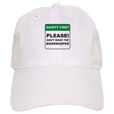 Bookkeeper / Wake Baseball Cap