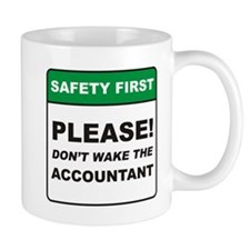 Accountant / Wake Mug