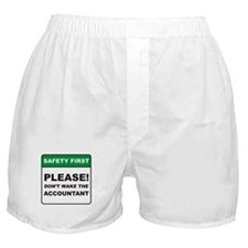Accountant / Wake Boxer Shorts