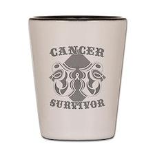 Lung Cancer Survivor Shot Glass