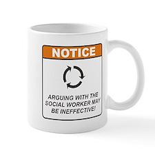 Social Worker / Argue Mug