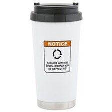 Social Worker / Argue Travel Mug