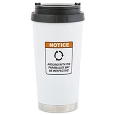 Pharmacist / Argue Thermos Mug