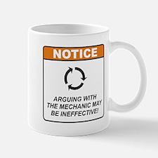 Mechanic / Argue Mug