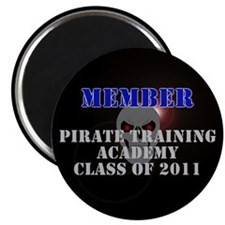 """Pirate Academy 2.25"""" Magnet (100 pack)"""