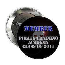 "Pirate Academy 2.25"" Button"