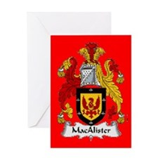 Clan MacAlister Greeting Card