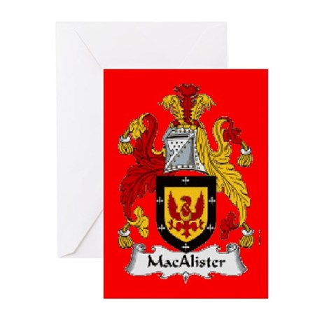 Clan MacAlister Greeting Cards (Pk of 10)