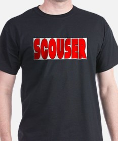 Scouser Red w/Black T-Shirt