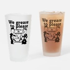 Grease to Please Drinking Glass
