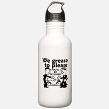 Grease to Please Water Bottle
