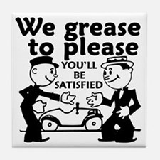 Grease to Please Tile Coaster