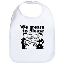 Grease to Please Bib