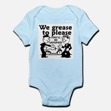 Grease to Please Infant Bodysuit