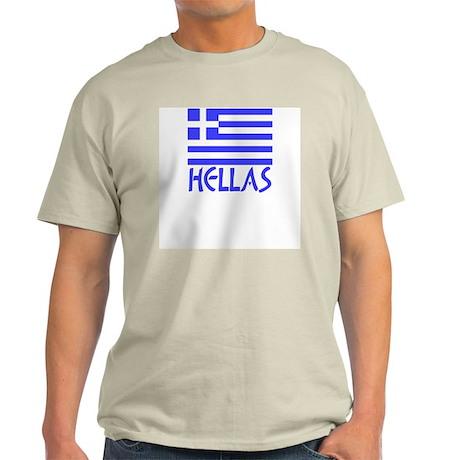 Greek Flag & Hellas Light T-Shirt