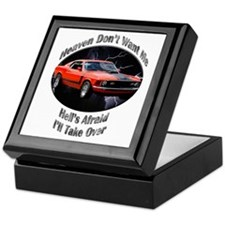 Ford Mustang Boss 351 Keepsake Box