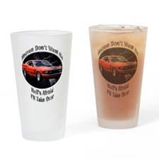 Ford Mustang Boss 351 Drinking Glass