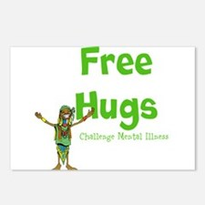 Free Hugs Postcards (Package of 8)