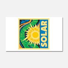 Solar Energy Car Magnet 20 x 12