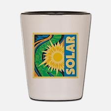 Solar Energy Shot Glass