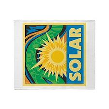 Solar Energy Throw Blanket
