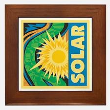 Solar Energy Framed Tile