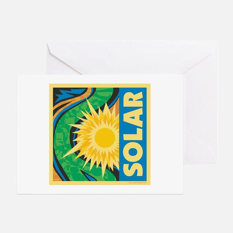 Solar Energy Greeting Card