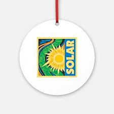 Solar Energy Ornament (Round)