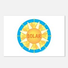 Solar Sun Postcards (Package of 8)