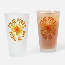 Solar Energy Drinking Glass