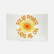 Solar Energy Rectangle Magnet