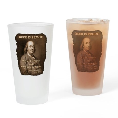 Ben/Rag-Edge Drinking Glass