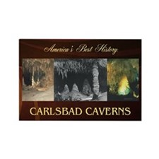 Carlsbad Caverns Americasbesthist Rectangle Magnet