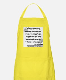Lawrence Soul Quote Apron