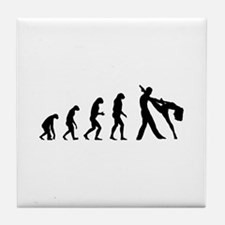 Evolution ballet Tile Coaster