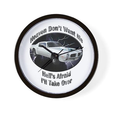 Pontiac Trans Am Super Duty Wall Clock