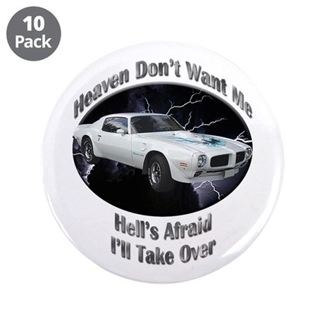 Pontiac Trans Am Super Duty 3.5 Inch Button (10 pa